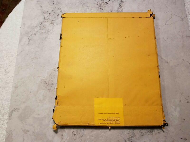 """Kodak #10H Dark Amber Glass Safelight Filter 10 """"x 12"""" for Photo Enlarging Paper"""