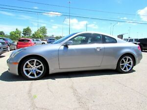 2004 Infiniti G35 Coupe 3.5L 6 SPD MANUAL LEATHER SUNROOF CERTIF