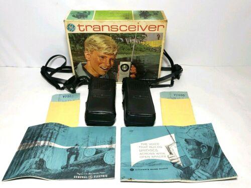 Vintage General Electric GE Transceivers Y7000 | Sends / Receives Voice Massages
