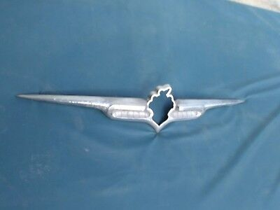1951 1952 1953 Packard Trunk Emblem Chrome Ornament 51 52 53 for sale  San Diego