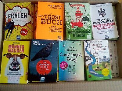 ***SUPERANGEBOT***Bücherpaket: 20 neue, ungelesene  Bücher der letzten Jahre