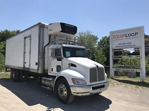 2011 Kenworth T370 Reefer Truck LOW HOURS