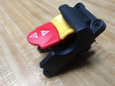 089110109712 Genuine On Off Switch Assy. With Yellow Lock Key Ridgid Ryobi Tti