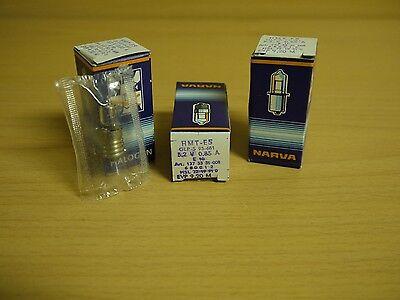 3x Narva Halogen Lampe Glühbirne 5,2V 0,85A  E10 Taschenlampenbirne Glühlampe  gebraucht kaufen  Bischofrode