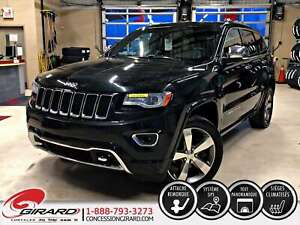 2014 Jeep Grand Cherokee OVERLAND*TOIT PANORAMIQUE*GPS*CUIR*HITC