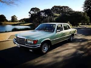Vintage Mercedes 450SEL V8 4.5L W116 1979