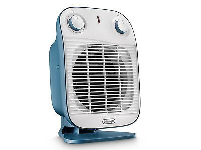 Delonghi HFS50B20.AV termo ventilatore Vertical Edge IP21 2000W blu estivo