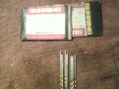 Guhring Micro Precision Cobalt Drill Bit 205 Series 2.00mm .0787 Pkg Of 10