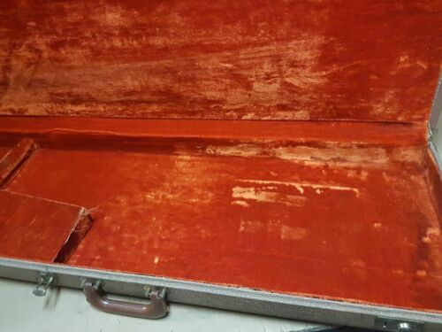 1963 FENDER BASS VI CASE - made in USA