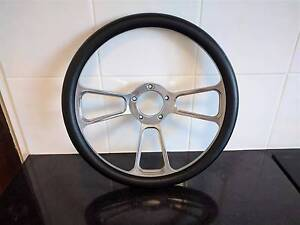 Billet Specialties steering wheel - Black leather Paddington Brisbane North West Preview