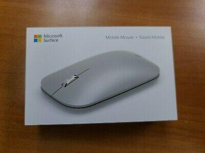 Microsoft Surface Wireless BlueTrack Sensor Mobile Mouse - Platinum