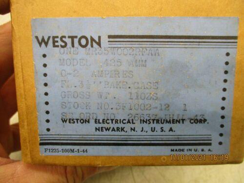 Weston 425 Vintage meter for western electric DIY