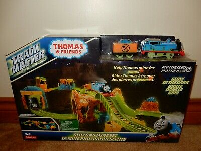 THOMAS & FRIENDS TRACK MASTER GLOWING MINE SET BRAND NEW FREE USPS SHIPPING