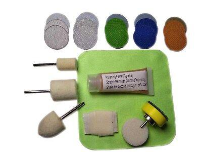 Watch Glass Polishing Kit, Glass Scratch Removal, Acrylic, Sapphire Crystal Glass Polishing Kit