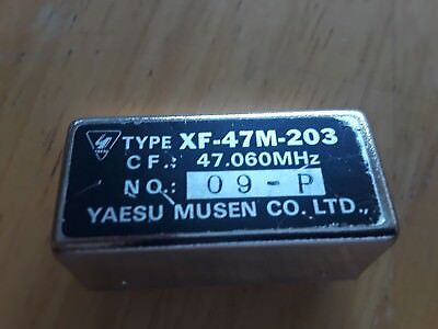 Used, YAESU AM FILTER XF 47M 203 FOR FT 757GX for sale  Romeoville