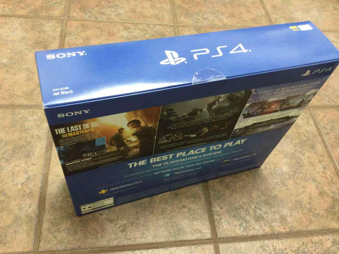 Brand New Sony Playstation 4 PS4 Slim 1TB Console and 2 code