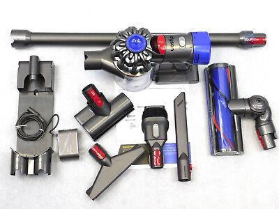 Dyson V7 Animal Cordless Stick Vacuum Cleaner Iron + Extra Mattress Tool Bundle