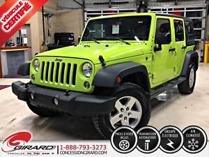 2016 Jeep WRANGLER UNLIMITED SPORT UNLIMITED*PLAN OR 5 ANS/100 0
