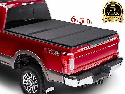 6.5' for 2019-2020 Silverado 1500 2500 LT Pickup Truck Hard Tri Fold  Bed Cover