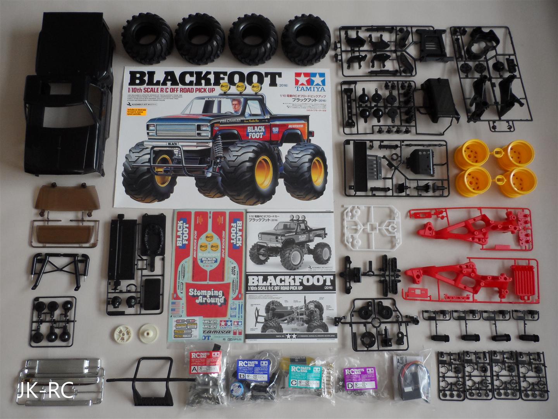Car Parts - Choice Of New Spare Parts For 'Tamiya Blackfoot 2016 58633 ' R/C Car