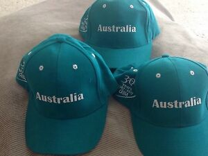 Australia Caps x 3 brand new Forest Lake Brisbane South West Preview