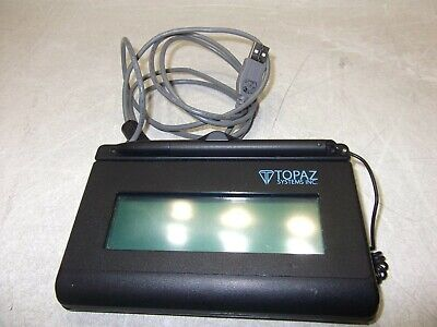Topaz T-l460-hsb-r Usb Electronic Signature Pad And Writing Pen