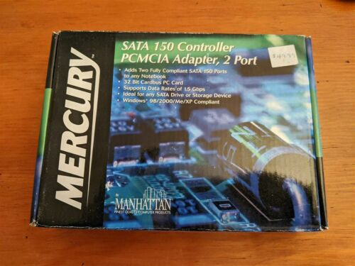 Mercury PCMCIA SATA 150 2-Port Adapter