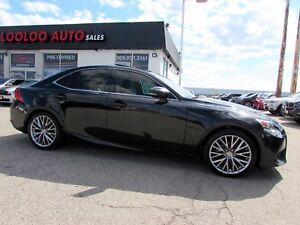2014 Lexus IS 250 AWD NAVIGATION CAMERA CERTIFIED WARRANTY