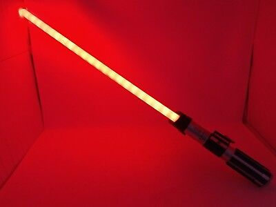 STAR WARS 2010 Hasbro Ultimate FX Darth Vader RED Lightsaber #32720 C-2945A  for sale  Shipping to Canada