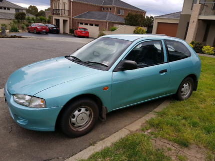 1996 Mitsubishi mirage manual with 3 months rego