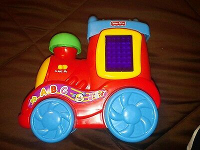 Fisher Price Laugh and Learn Musical ABC Train -- Alphabet, Counting,