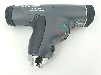 Welch Allyn Led 3.5v Panoptic Ophthalmoscope With Cobalt Blue Filter - 11820