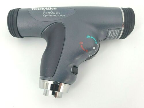 Welch Allyn LED 3.5V PanOptic Ophthalmoscope with Cobalt Blue Filter - # 11820