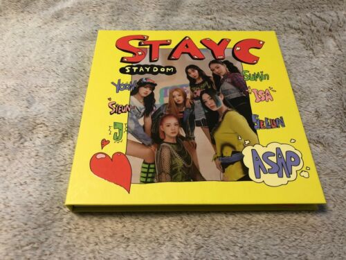 STAYC All Member Autographed (Signed) Promo CD