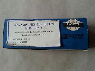 Dynamisches Mikrofon MDO 21 W-1