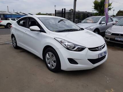2011 Hyundai Elantra Sedan AUTO LOW KMS Williamstown North Hobsons Bay Area Preview