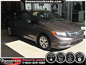 Honda Civic Sdn LX 4 portes, boîte automatique