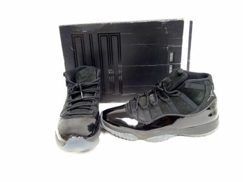 Air Jordan 11 Retro XI Cap and Gown Black (378037-005) Men's Sz13 P2/N1452*