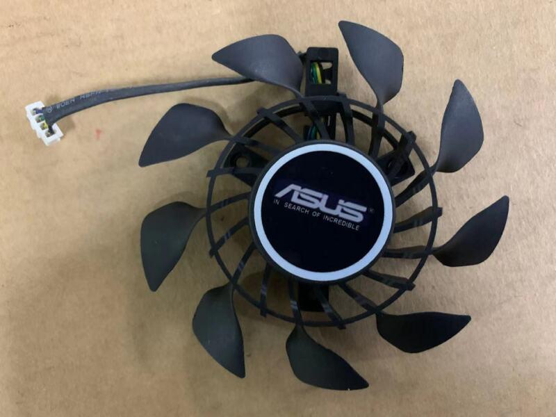 85mm ASUS MINI GTX 760 950 960 970 Fan Replacement 3*39mm 4Pin T129215SU