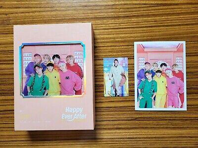 BTS 4RD Happy Ever After DVD 3DISC + PHOTOBOOK + Postcard + JIN Photocard