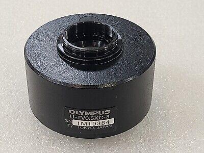 Olympus Microscope U-tv0.5xc-3 C-mount Camera Adapter