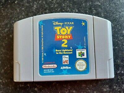 Disney's Toy Story 2 Nintendo 64 Game Genuine N64 Game Tested & Working PAL - #2