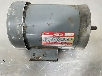 Dayton 3n087g 1 Hp G56c Electric Motor 3392sr A24pr2