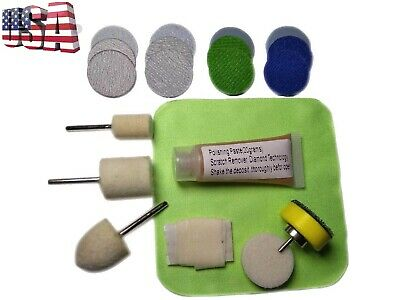 Windshield Glass Scratch Remover, Polishing Kit, Windscreen Repair Kit