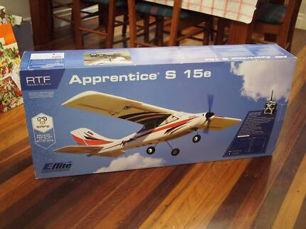 Apprentice S 15e, SAFE mode, rc plane, as new, never assembled