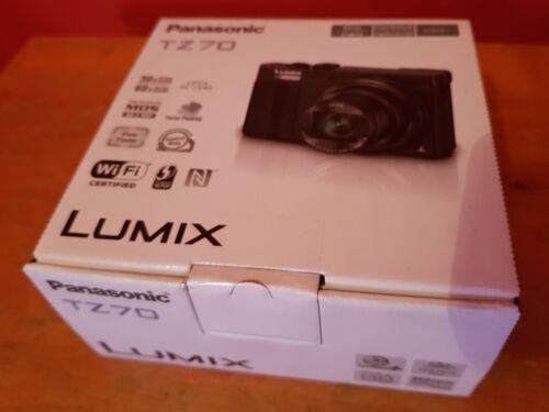 Panasonic LUMIX DMC-TZ70 / DMC-ZS50 12.1MP Digital Camera - black