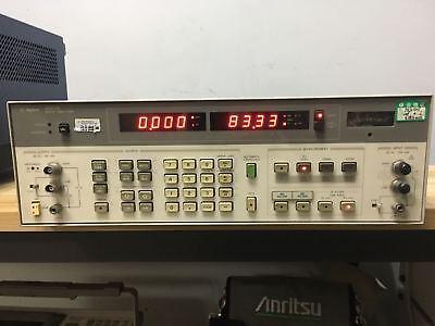 Hp Agilent 8903b Audio Analyzer 20hz-100khz Option 001 Rear Panel Tested