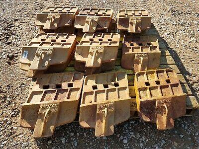5 John Deereblack Cat 944k Wheel Loader Cutting Edges Part T1099082