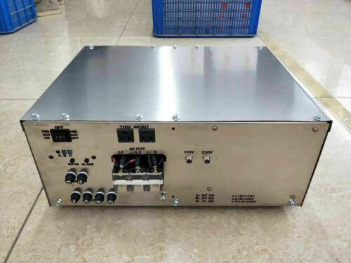9000W LF SPLIT PHASE pure sine wave power inverter dc 24v/ac 110V/220V 60HZ
