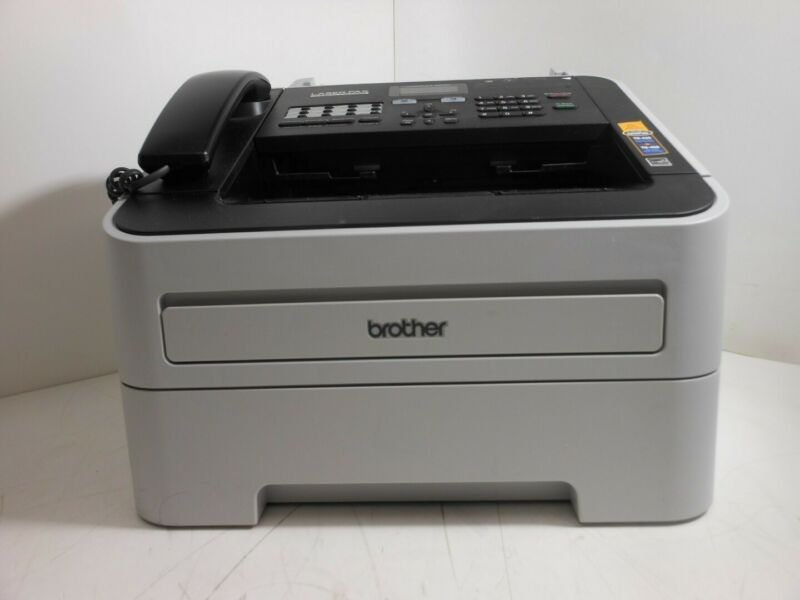 Brother Intellifax 2840 LaserFax Super G3 Fax Printer Low Page Count